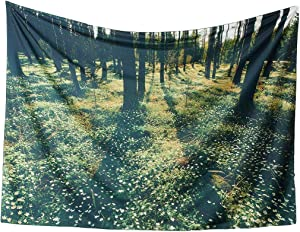 Forest Moonbeam Wall Tapestry Dorm Décor,80