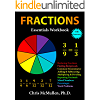Fractions Essentials Workbook with Answers