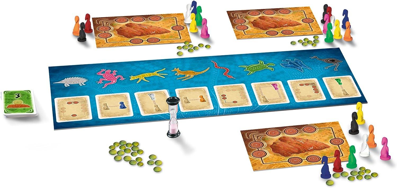 KOSMOS 691325 - Juego de Mesa Uluru (Instrucciones en alemán): Luchau, Lauge: Amazon.es: Juguetes y juegos
