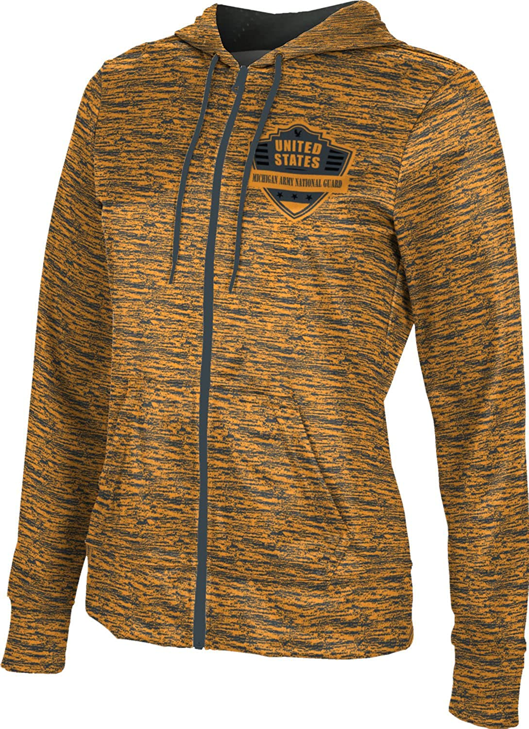 ProSphere Women's Michigan Army National Guard Military Brushed Fullzip Hoodie