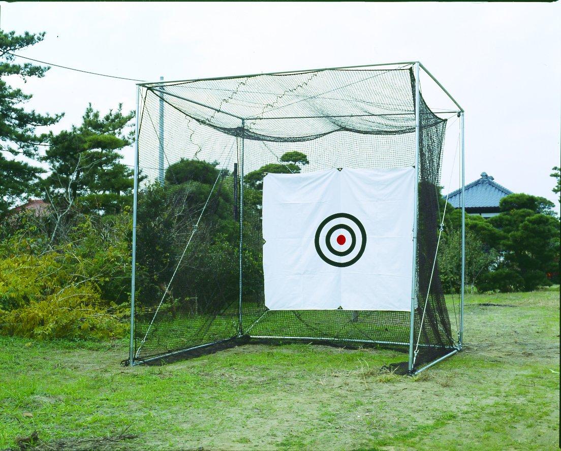 ホームゴルフネット GMタイプ 組立簡単 日本製 グリーン ゴルフ練習 B07B3G9HCN