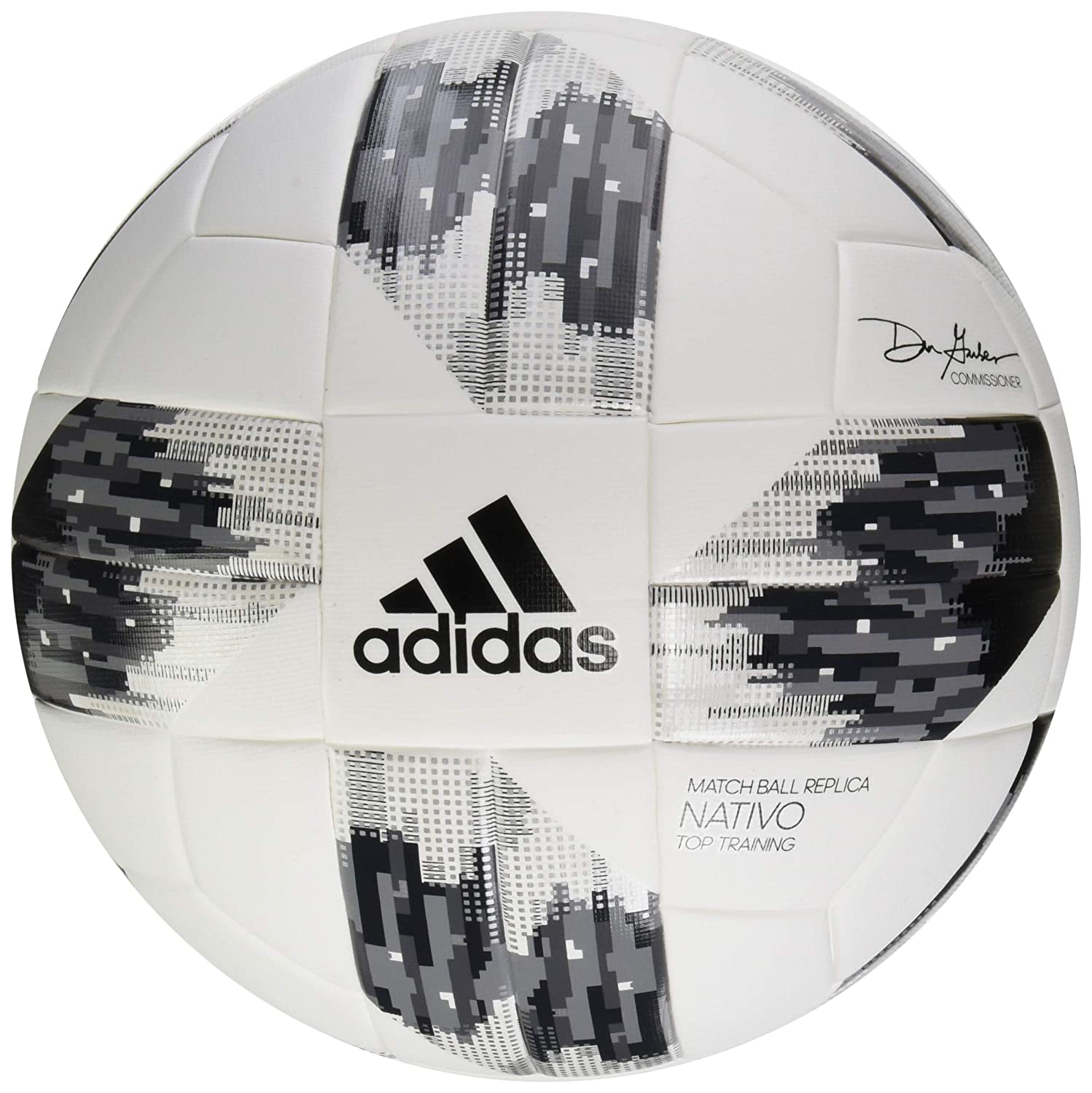 adidas Performance MLS Top Training NFHS Pelota, Blanco, tamaño 4 ...