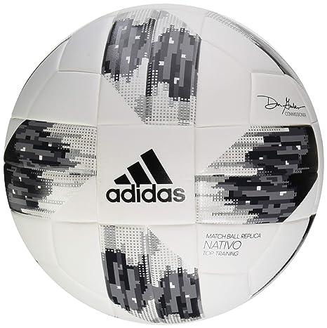 online retailer 1b404 2b149 adidas Performance 2018 MLS Top Training NFHS Ball, White Black Grey, Size