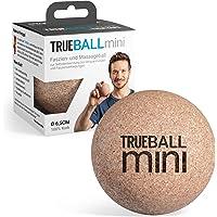 Trueball Mini by Truetape Fascia-bal, kleine duurzame massagebal van 100% kurk voor gerichte zelfmassage, met…