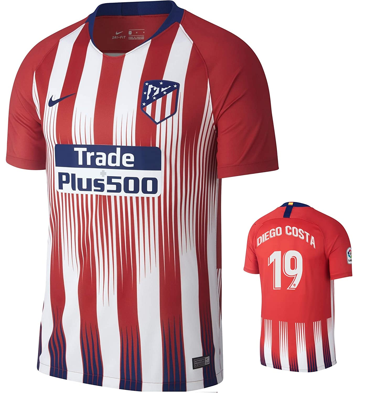 size 40 20fa3 2327b Amazon.com: Atletico Madrid Diego Costa Home Jersey 2018 ...