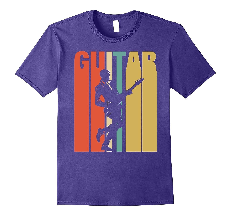 Classic Vintage Retro Guitar Funny TshirtGift For MenWomen