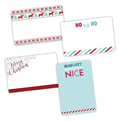 amazon com avery assorted christmas labels 3 x 4 1 2 4 designs