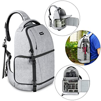 Amazon.com: Neewer - Mochila para cámara profesional: Camera ...