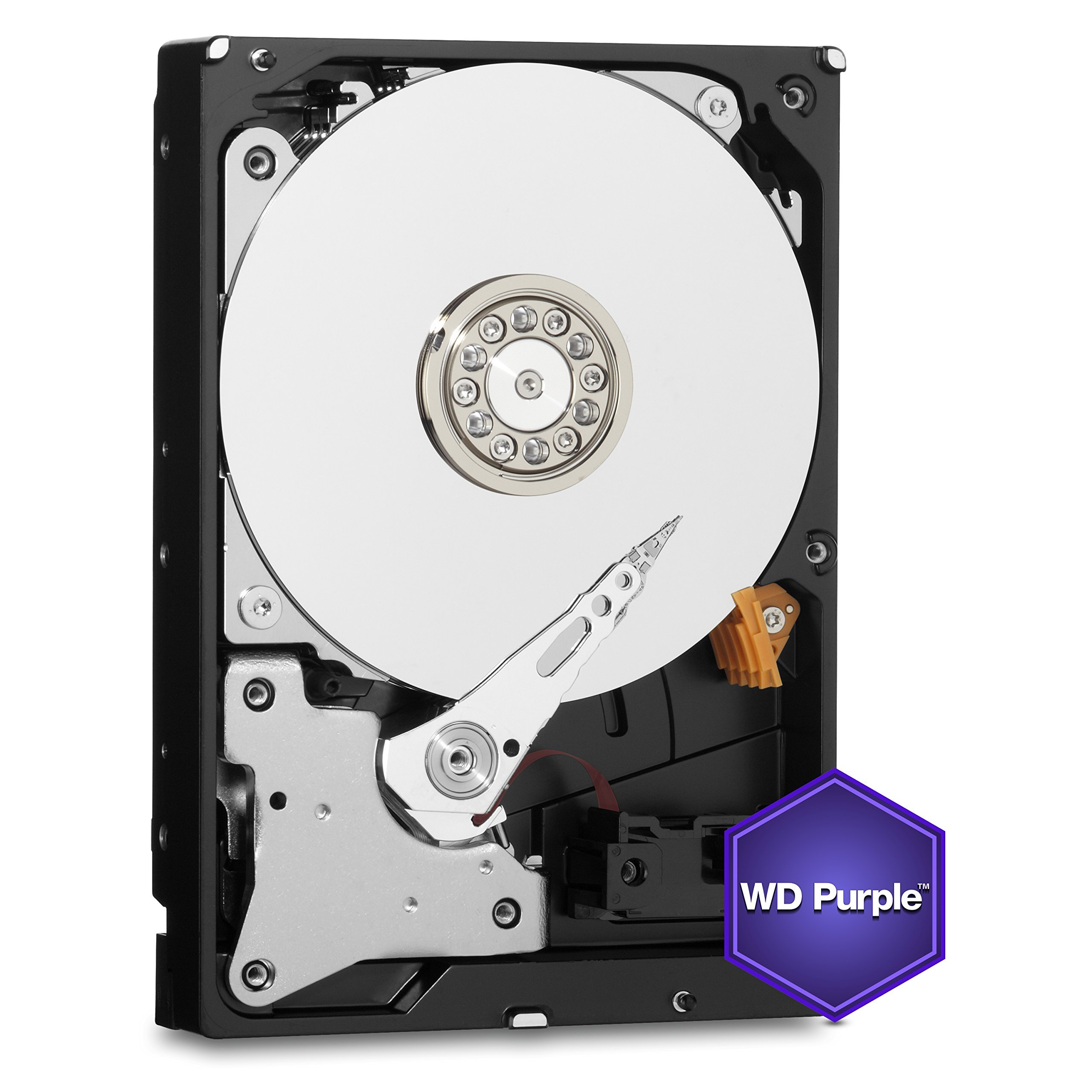 WD Purple 1TB Surveillance Hard Disk Drive - 5400 RPM Class SATA 6 Gb/s 64MB Cache 3.5 Inch - WD10PURX [Old Version] (Certified Refurbished) by Western Digital (Image #4)