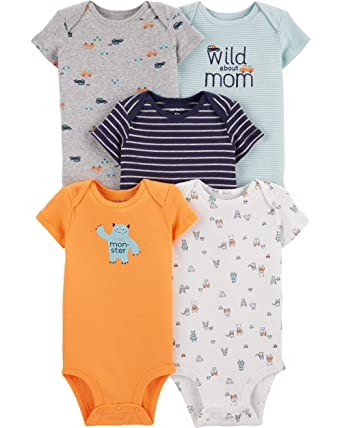 Kitty Love Baby Carters Baby Girls 5 Pack Bodysuits