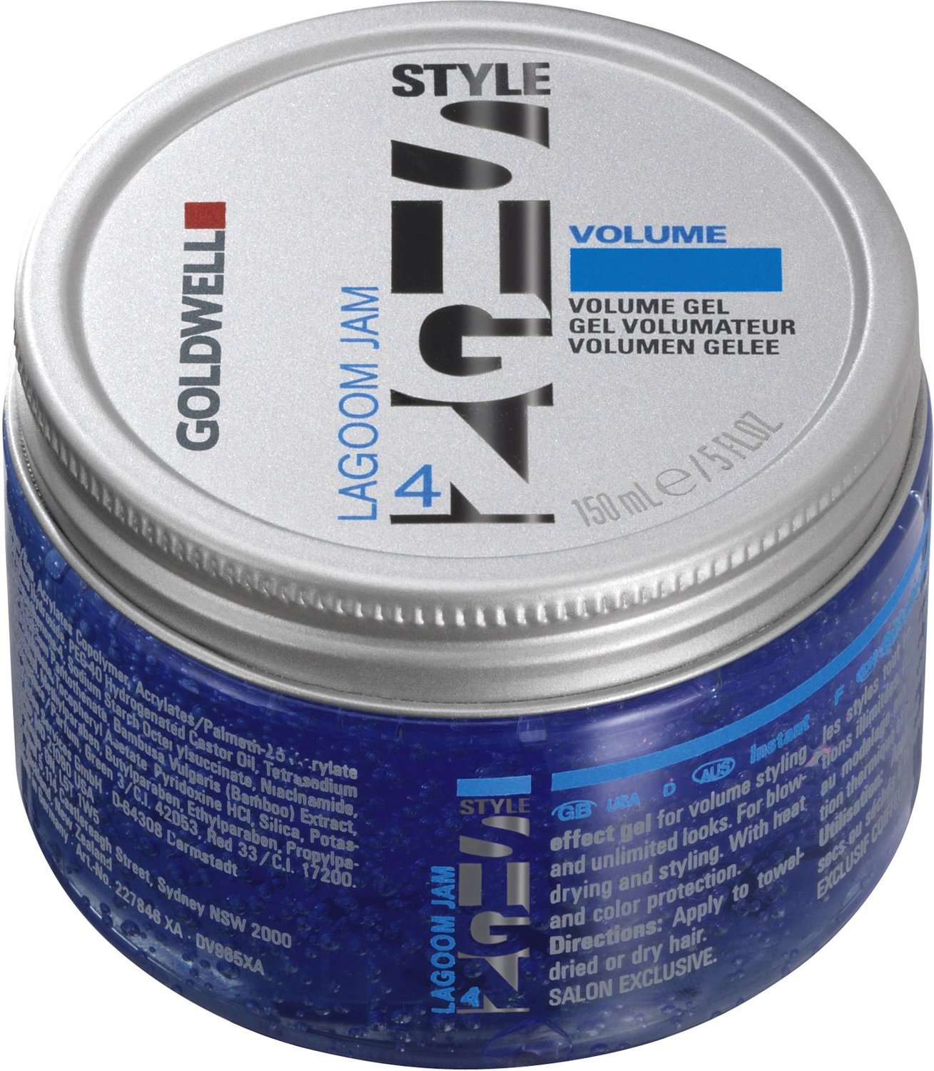 Goldwell Style Sign 4 Lagoom Jam Volume Gel, 5 Ounce