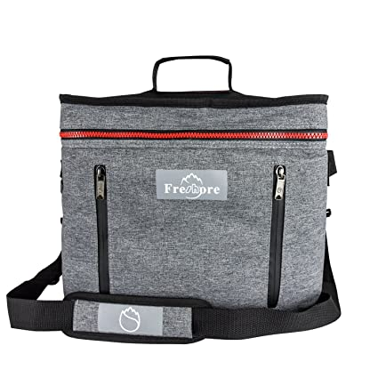 9ae3ff45068e Freshore Collapsible Travel Large Portable Insulated Folding Cooler  Compartment Thermal Bag-Meal Prep Big Lunch Box Backpack Picnic Car Tote  With ...