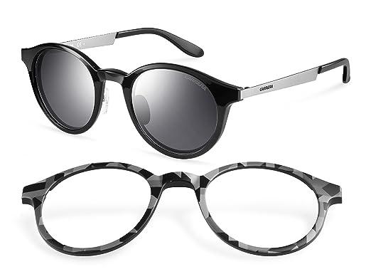 Carrera - Lunettes de soleil 5022 S Interchangeable Ronde, BLACK IKD  Amazon .fr  Vêtements et accessoires dafa7648e8fc