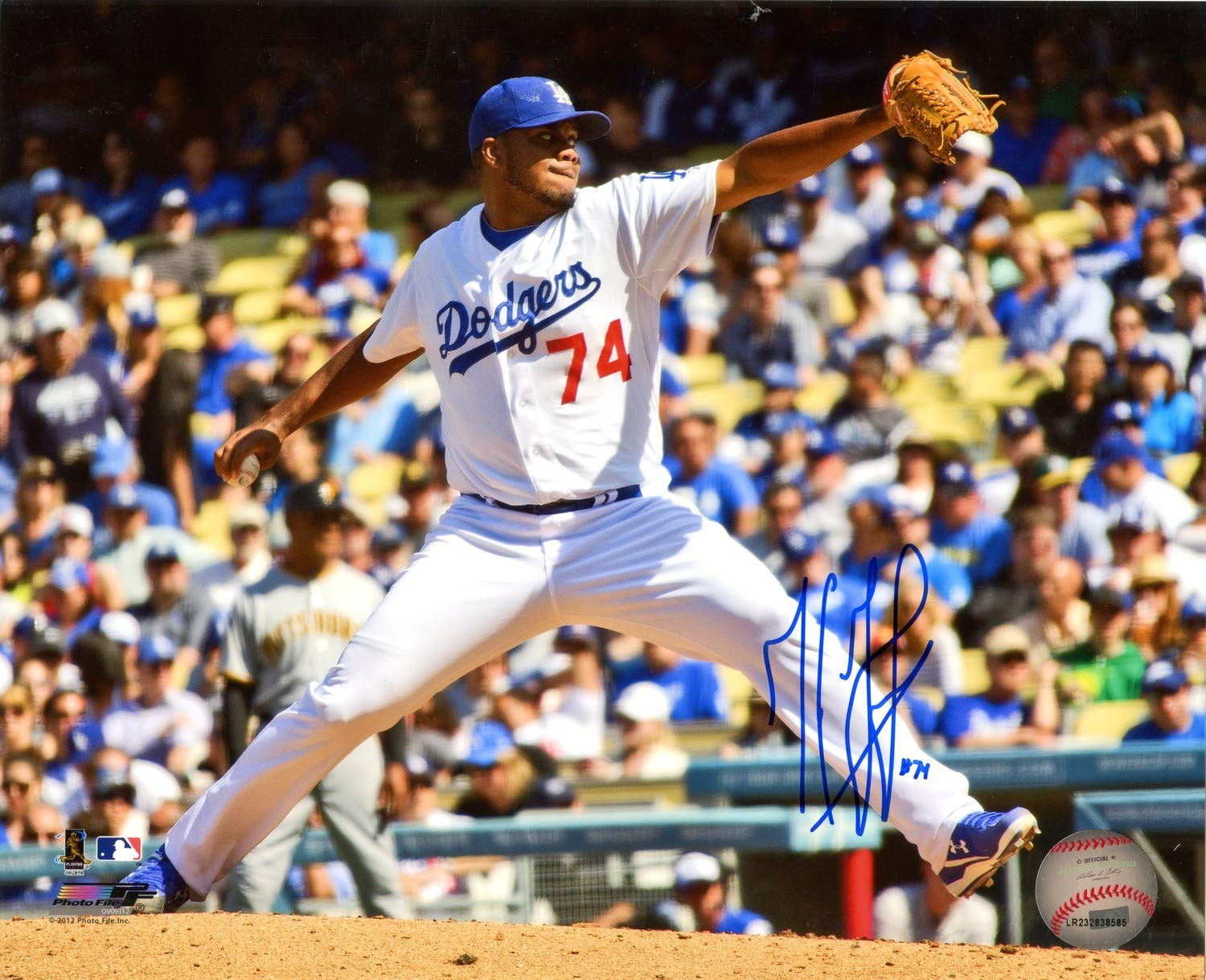 Kenley Jansen Los Angeles Dodgers Autographed Signed 8x10 Photo - Certified Authentic