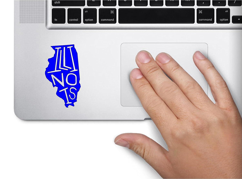 Amazon State Name Illinois Keypad Computer Laptop Symbol Decal