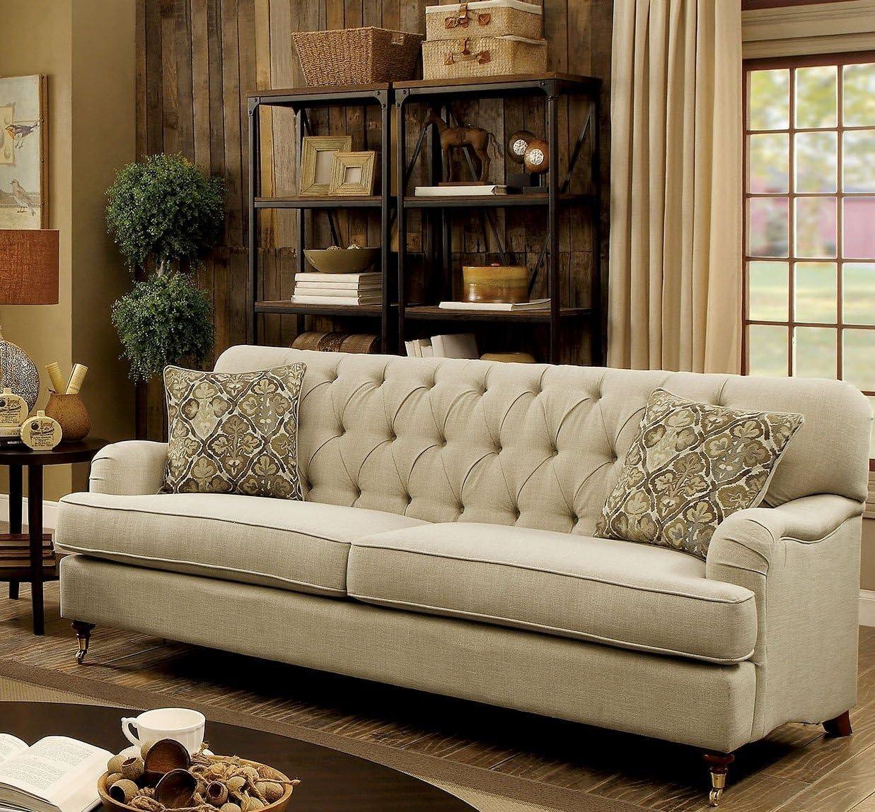 Furniture of America CM6863-SF Laney, Beige