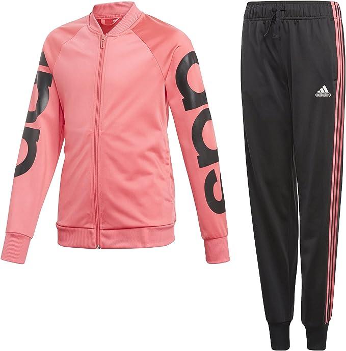 adidas Mädchen Trainingsanzug von ansehen!