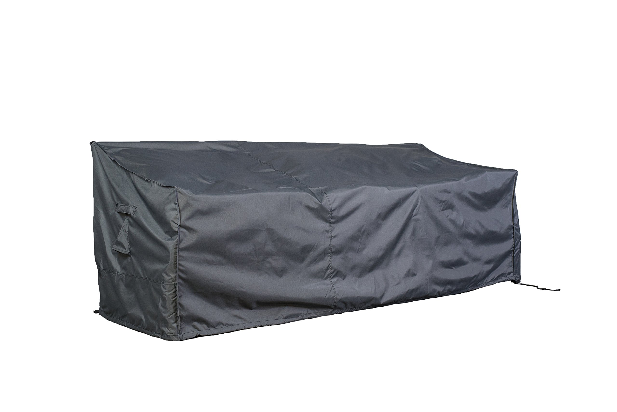 Hentex Cover Outdoor Loveseat Sofa Cover, 6607, Water Resistant, Breathable, Advanced 3 Layer Fabric (88'×'32.5''×33'')