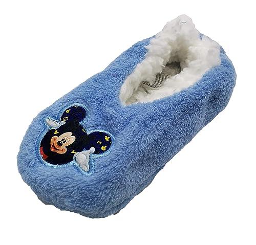 diseñador de moda 99c6e 79b42 Zapatillas babuchas Infantiles Estar por casa Mickey Disney para niños
