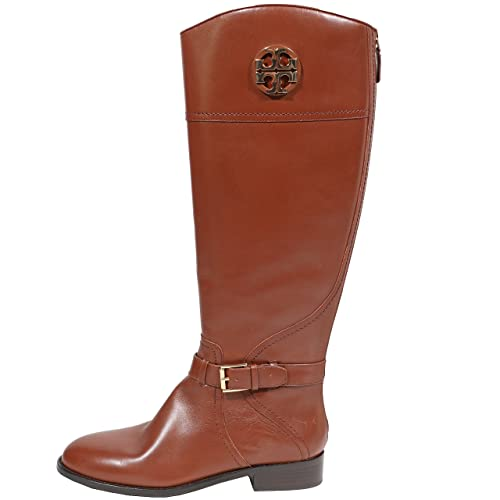 293f0776b9e3 Tory Burch Boots Adeline 20mm Riding Boot Tumbled Leather Veg Leather (9.5