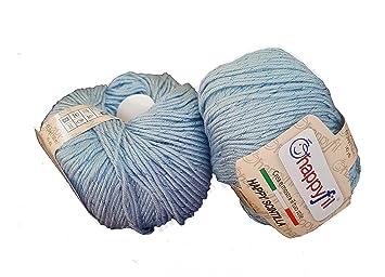 Miss Tricot Filati Scintilla (Baci rubati) Lana Microfibra Laminata (50g)  (Azzurro - 13)