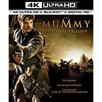 Deals on The Mummy Ultimate Trilogy 4K Ultra HD Blu-ray