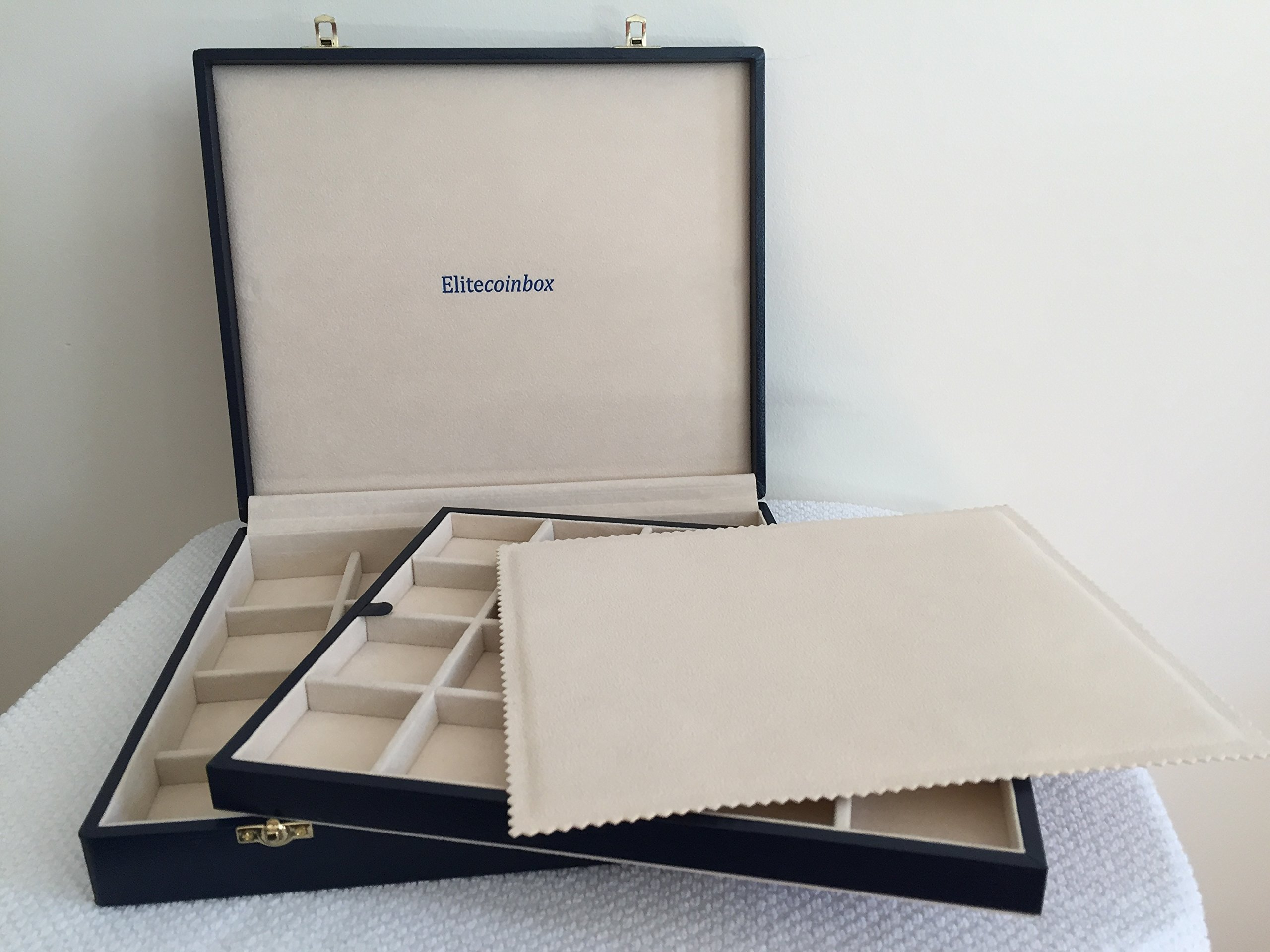 Deluxe Large Coin Collection Case