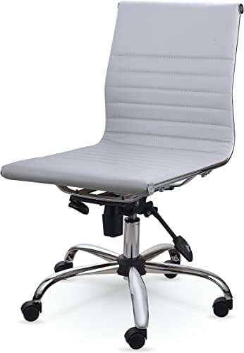 Winport Furniture Mid-Back Leather Conference Office Chair