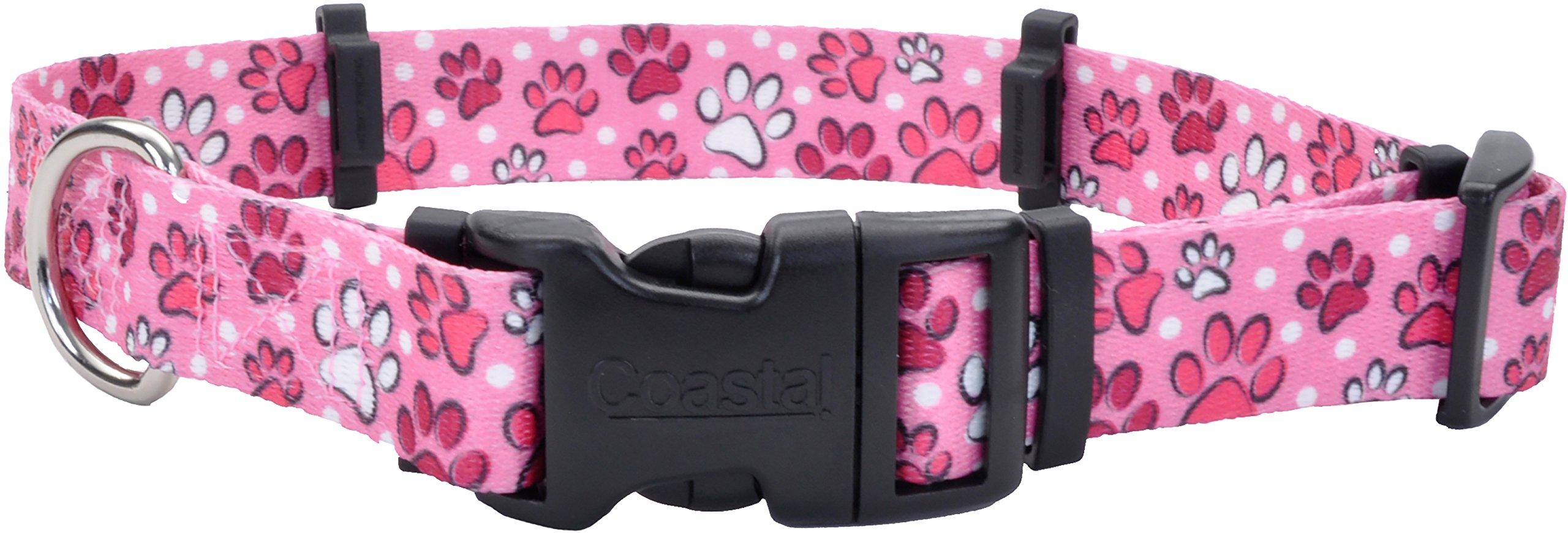 Coastal Pet Products 06144 MPW14 Flea Collar Protector, 0.625'' x 14'' Small, Multi Paws by Coastal Pet (Image #1)