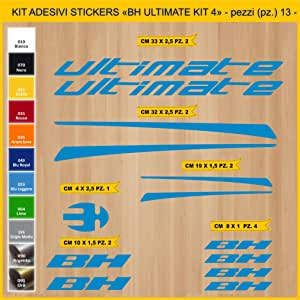 Kit Pegatinas Stickers Bicicleta BH Ultimate- Kit 4-13 Piezas ...