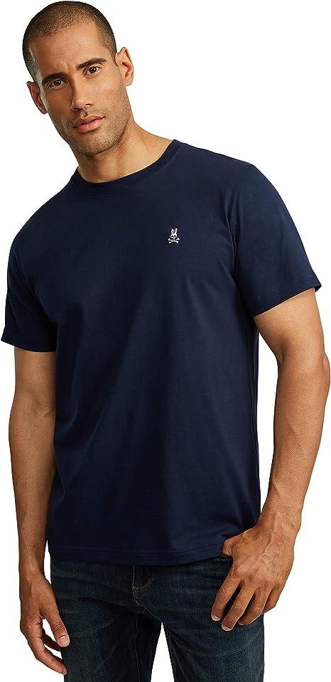 Blue Psycho Bunny Men/'s Crew Neck T-Shirt
