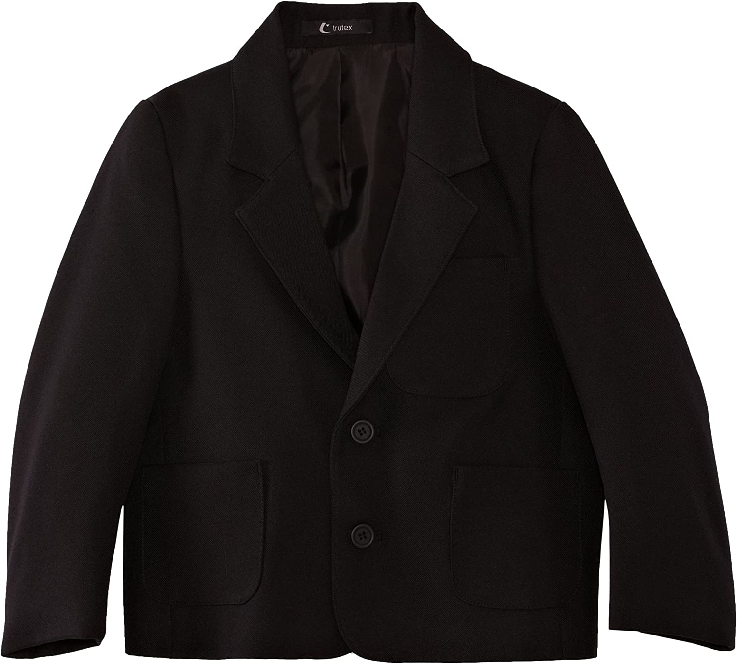Trutex Limited Boys Zip Access Plain Blazer