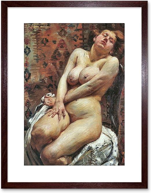 Image No 004 Nude Female Model with Vintage Car B/&W fine art photo print 8x10