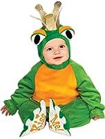 Rubie's Costume Cuddly Jungle Frog Romper Prince Costume