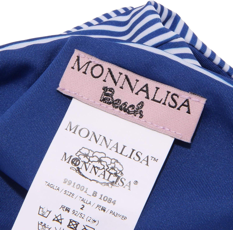 MONNALISA 4526X Bikini Bimba Girl Beach Costume White//Blue Swimwear