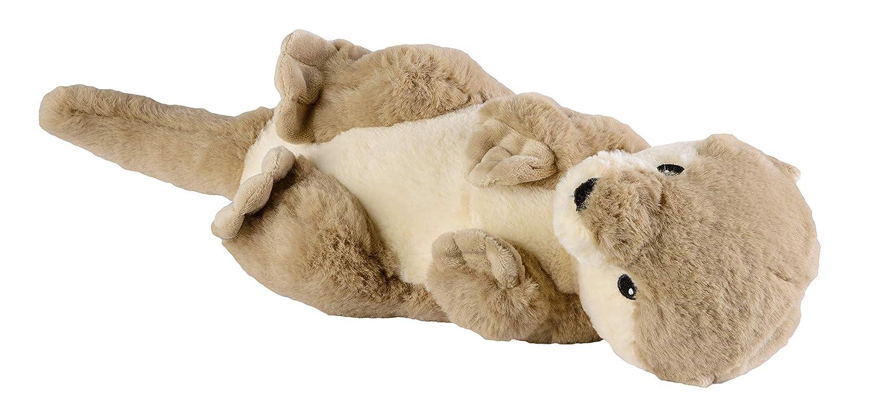 Warmies Otter Coussin chauffant avec coussin amovible en forme de cerf Lavande Env 35 cm.