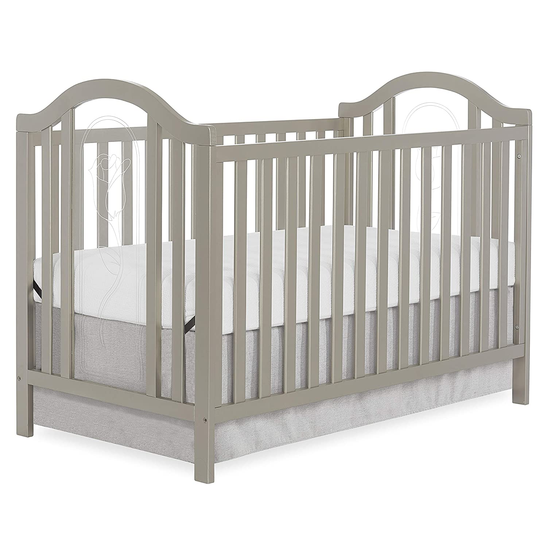 Slumber Baby Ariel Convertible Crib, Gold Dust