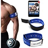 BFR BANDS Occlusion Training Bands Rigid Edition, Blood Flow Restriction Bands Give Lean & Fast Muscle Growth Without Lifting Heavy Weights Strong Adjustable Strap + Comfort Liner