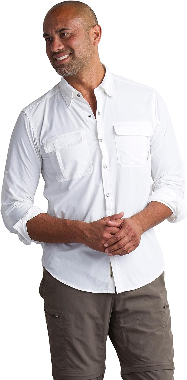 Image of Button-Down Shirts ExOfficio BugsAway Halo Long Sleeve Shirt