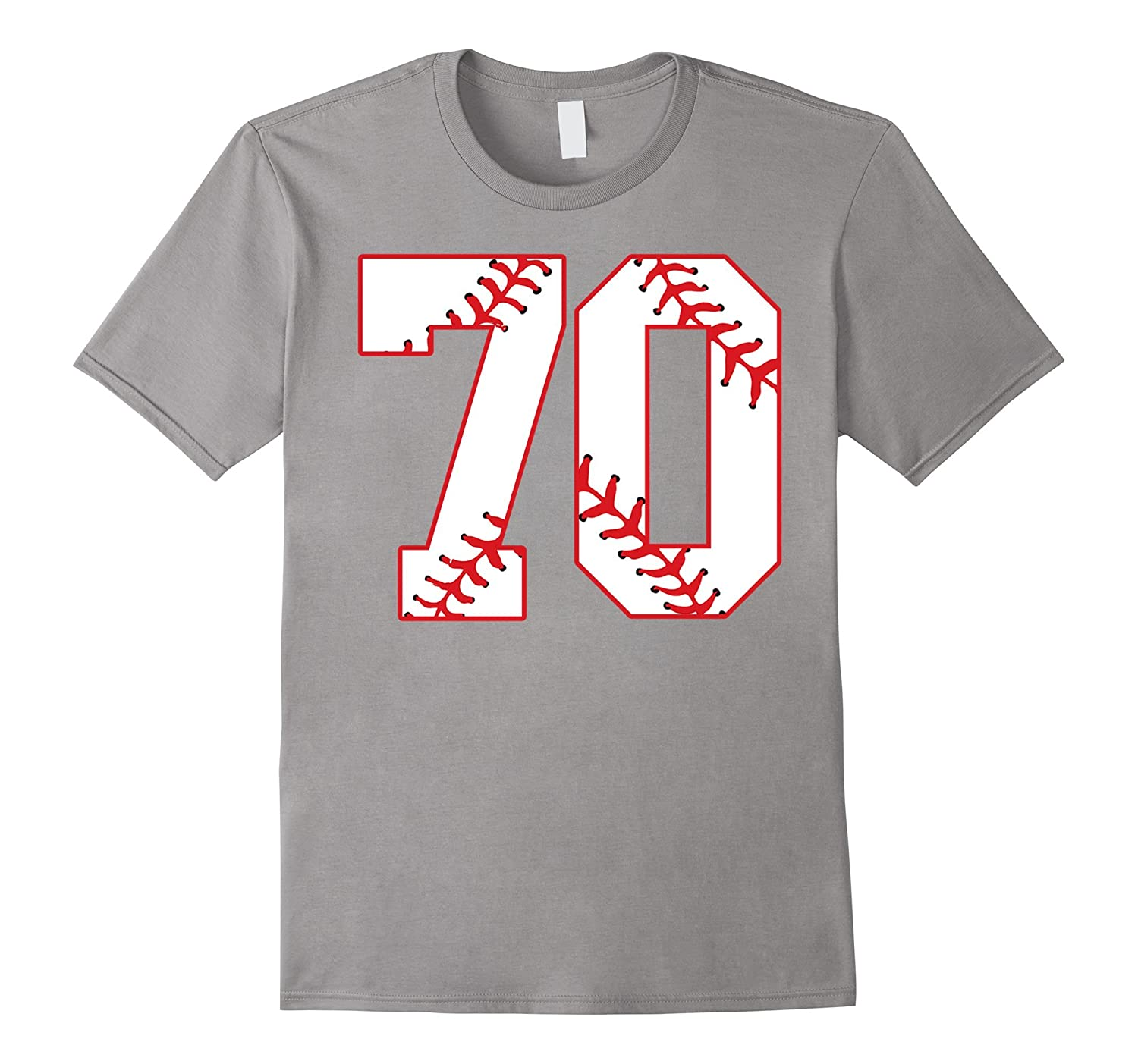 Seventieth Birthday Party 70th Baseball T Shirt Born 1947 Vaci