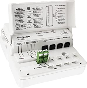 Watt Stopper LMRC-212 Digital 2-Relay Room Controller On/Off/Dimming 120/277V, White