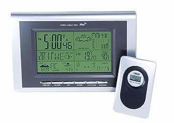 Weathereye WEA21 Indoor/ Outdoor Electronic Weather Station ...