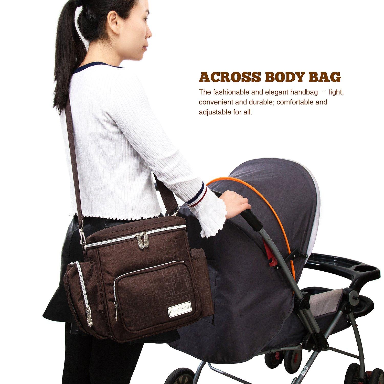 Knuddelstuff Winslow Baby Changing Bag Black