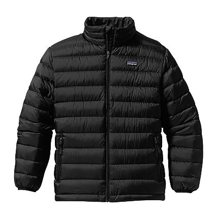 a8686b706924 Amazon.com  Patagonia Down Sweater Jacket Black L -Kids  Sports ...