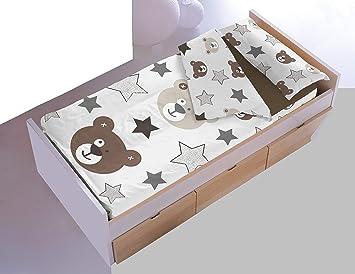 Dormir Happy Saco Nórdico con Relleno Ref. Osos .Disponible Varios tamaños, para Cama de 90 cm y de 105 cm. (Cama 105 cm.): Amazon.es: Hogar