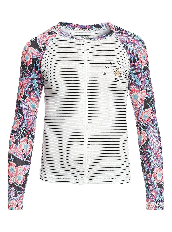 Roxy Sunset Only Zipped Long Sleeve UPF 50 Rash Vest for Girls 8-16