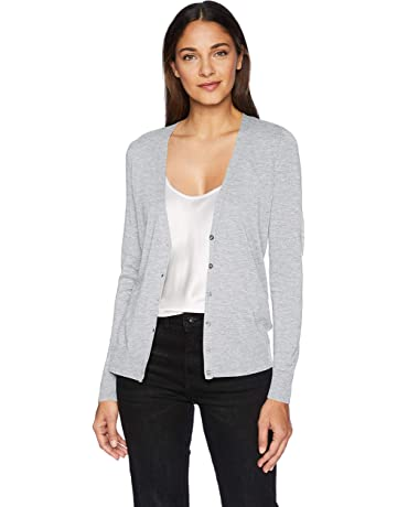 d5a84d0a2e3 Amazon Essentials Women s Lightweight Vee Cardigan Sweater