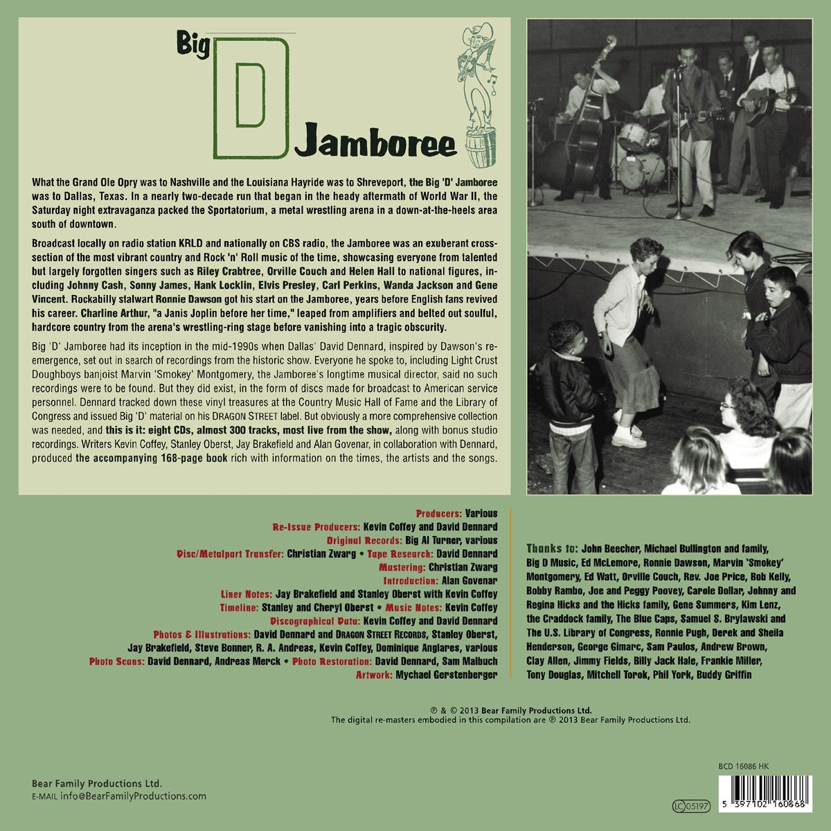 Big D Jamboree: Live Recordings From Dallas 1950-1958, Plus Demos and Rarities by Various - Record Label Profiles