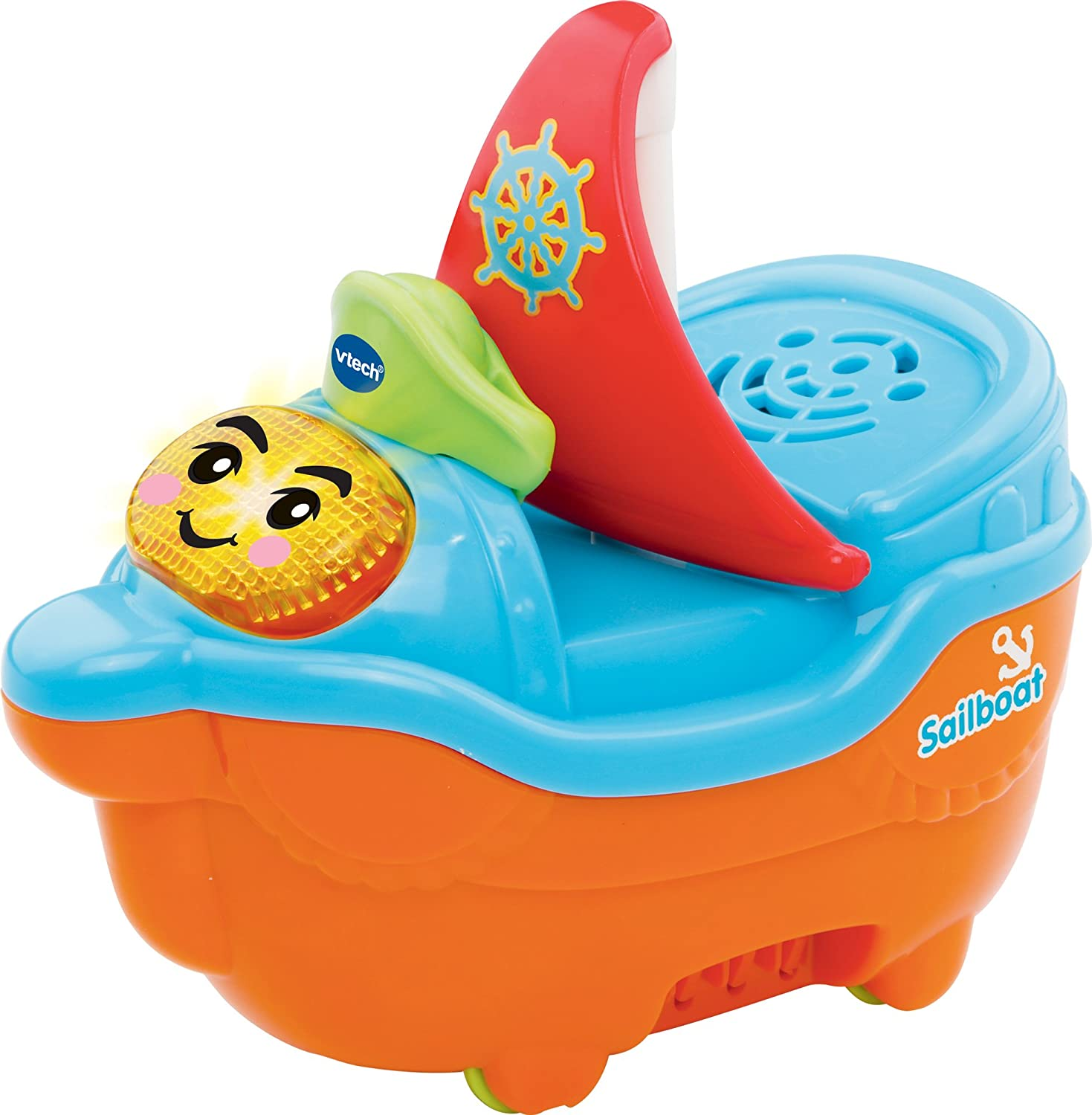 Vtech Baby Toot-Toot Splash World Sail Boat Toy 187103