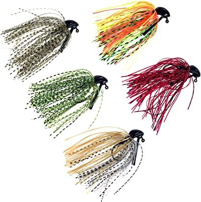 thkfish Fishing Lures Fishing Jigs Swim Jigs Fishing Jigs Bass Mix Color Metal Lead Fishing Jigs Kit